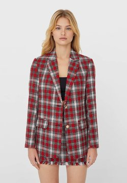 Stradivarius - Blazer - red