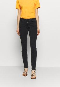 CLOSED - BAKER LONG MID WAIST REGULAR LENGTH - Jeans slim fit - black