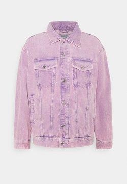 Weekday - MILTON OVERSIZED WASHED JACKET - Kevyt takki - purple
