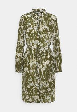 Object - OBJAMENA SHIRT DRESS - Blusenkleid - burnt olive