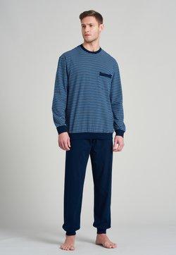Schiesser - Pyjama - blau