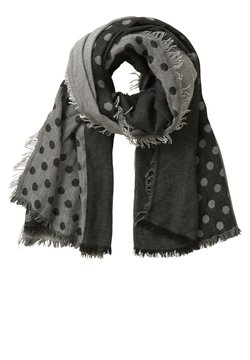 Cartoon - Schal - schwarz/grau