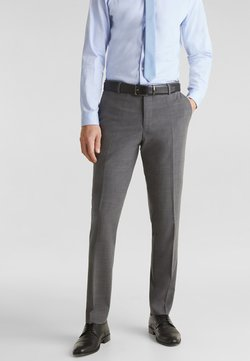 Esprit Collection - Anzughose - dark grey