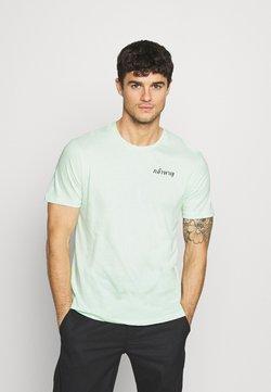 YOURTURN - T-shirt z nadrukiem - green