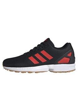 adidas Originals - ZX FLUX SHOES - Sneaker low - black