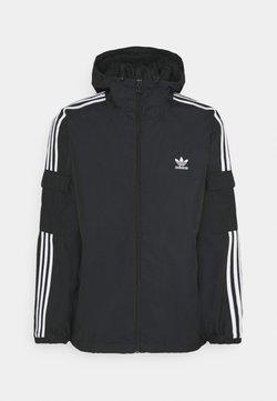 adidas Originals - THREE STRIPES UNISEX - Leichte Jacke - black