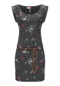 Ragwear - CHEGO FLOWERS - Jerseykleid - dunkelgrau