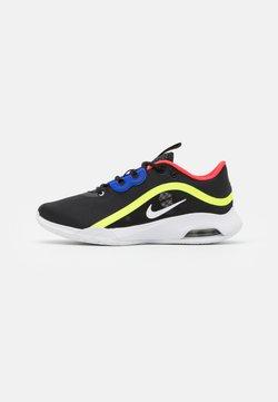 Nike Performance - AIR MAX VOLLEY - Zapatillas de tenis para todas las superficies - black/white/volt/laser crimson
