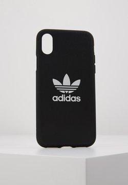 adidas Originals - MOULDED CASE TREFOIL FOR IPHONE X/XS - Kännykkäpussi - black/white