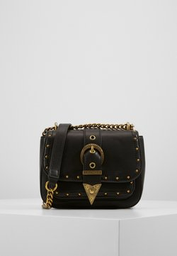 Versace Jeans Couture - CROSS BODY FLAP CHAINRODEO - Torba na ramię - nero