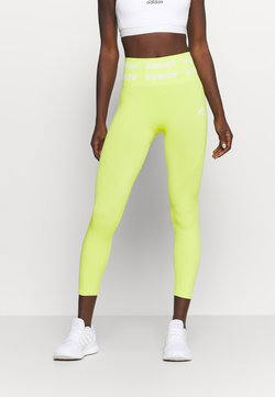 adidas Performance - Legging - acid yellow