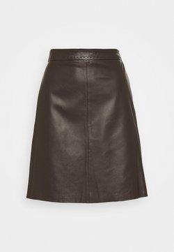 WEEKEND MaxMara - TIRO - Mini skirt - dunkelbraun