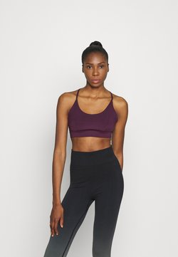 South Beach - STRAPPY TWIST BRALET - Sujetador deportivo - purple