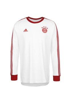 adidas Performance - FC BAYERN LICENSED ICON LONG-SLEEVE TOP - Vereinsmannschaften - white