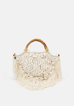 Nannacay - CAMU CAMU BAG - Bolso de mano - natural
