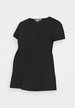 Anna Field MAMA - Camiseta estampada - black