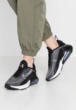 Nike Sportswear - AIR MAX 2090 - Sneaker low - black/white/metallic silver