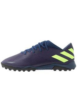 adidas Performance - NEMEZIZ MESSI 19.3 TF - Astro turf trainers - tech indigo/signal green/glow purple