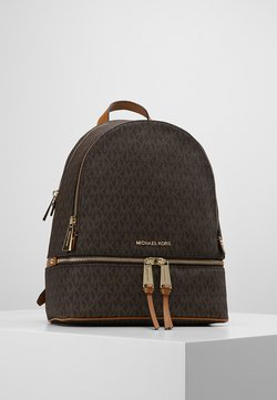 MICHAEL Michael Kors - RHEA ZIP BACK PACK - Reppu - brown