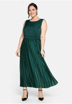 Sheego - Cocktailkleid/festliches Kleid - tiefgrün