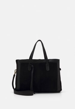 Zign - LEATHER - Sac à main - black