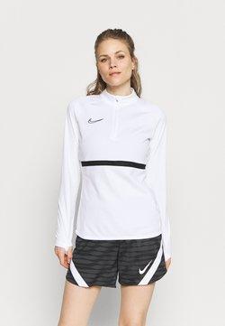 Nike Performance - DRY ACADEMY  - Fleece trui - white/black