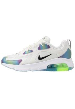 Nike Sportswear - AIR MAX 200 20 - Sneakers laag - summit white/black/platinum tint/white/metallic silver/black