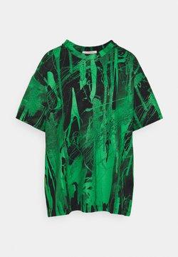 Christopher Kane - MINDSCAPE - T-shirt z nadrukiem - black green