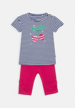 Staccato - BABY SET - Legging - dark blue/pink