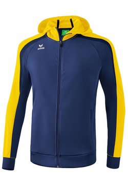 Erima - LIGA 2.0 TRAININGSKAPUZENJACKE KINDER - Trainingsjacke - new navy / gelb