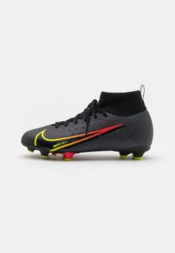 Nike Performance - MERCURIAL JR 8 PRO FG UNISEX - Chaussures de foot à crampons - black/cyber/off noir