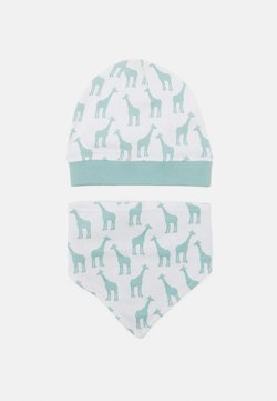 Sense Organics - RETRO HAT BIB SET UNISEX - Tuch - light teal
