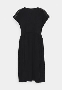 Vero Moda - VMNANCY KNEE DRESS - Vestito estivo - black