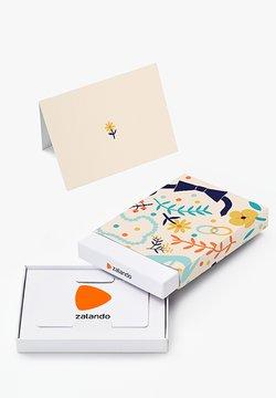 Zalando - HAPPY BIRTHDAY - Geschenkgutschein in Box - beige