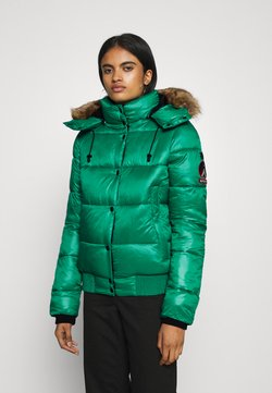 Superdry - HIGH SHINE TOYA  - Winterjacke - bosphorus