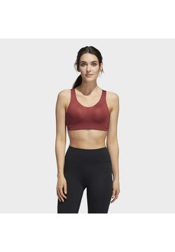 adidas Performance - STRONGER FOR IT ALPHA BRA - Sport BH - red