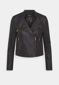 Vero Moda - VMBEATE  - Veste en similicuir - black