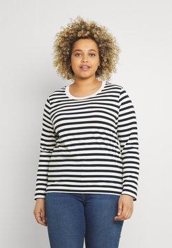 Selected Femme Curve - SLFANDARD - Langarmshirt - black