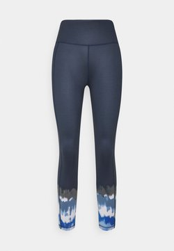 Sweaty Betty - SUPER SCULPT 7/8 YOGA LEGGINGS - Tights - navy blue ink