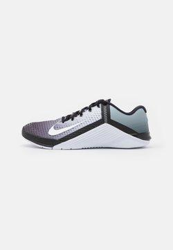 Nike Performance - METCON 6 UNISEX - Zapatillas de entrenamiento - black/white