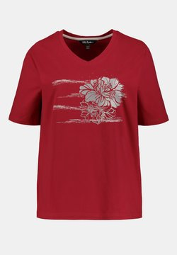 Ulla Popken - T-shirt print - dark red