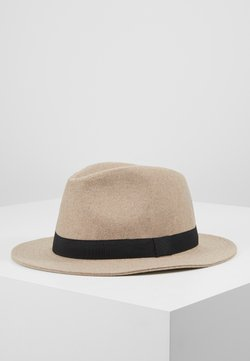 Only & Sons - ONSCARLO FEDORA HAT - Hoed - chinchilla