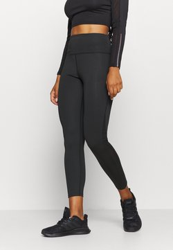 South Beach - SIDE PANEL LEGGING - Tights - black