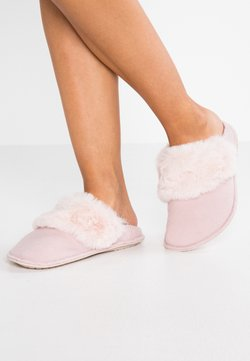 Crocs - CLASSIC LUXE SLIPPER  - Chaussons - rose dust