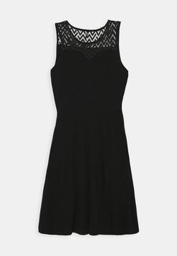 ONLY Tall - ONLNEW NICOLE LIFE DRESS - Jerseyjurk - black