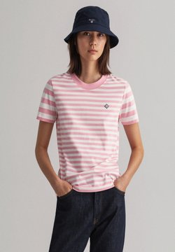 GANT - T-Shirt print - sea pink