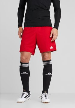 adidas Performance - PARMA PRIMEGREEN FOOTBALL 1/4 SHORTS - Krótkie spodenki sportowe - power red/white