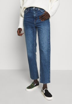 Topshop Tall - CLEAN - Straight leg -farkut - blue denim