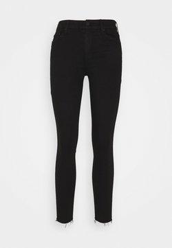 Mother - LOOKER FRAY - Jeans Skinny Fit - black