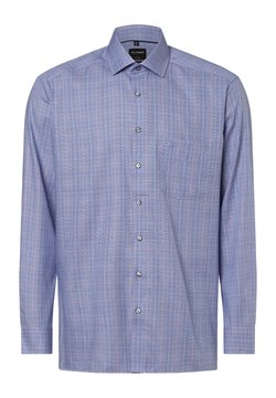 OLYMP - Hemd - blau rosa